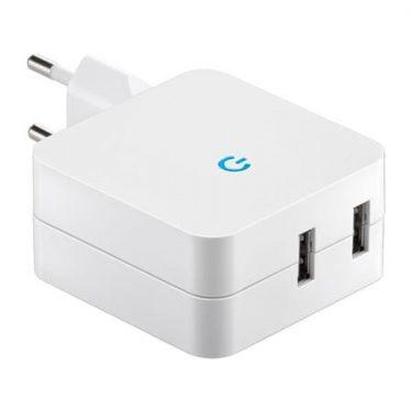 powerbank enkelvoudig-stopcontact-2x-usb