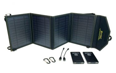 solar powerbank met losse zonnecel